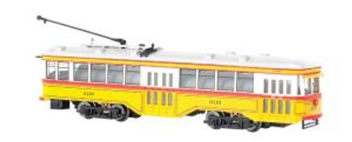 BAC84654  N Spectrum Peter Witt Streetcar w/DCC, Baltimore
