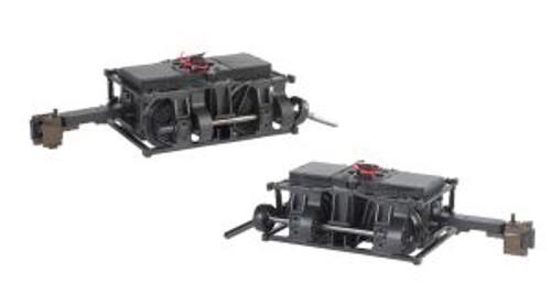 BAC88999  G Die-Cast Shay Power Trucks (1pr)