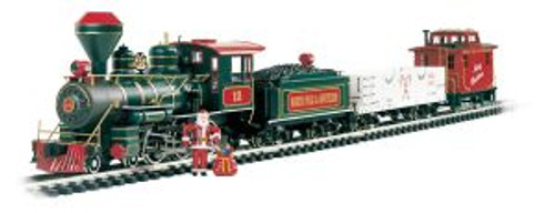 BAC90037  G 4-6-0 Freight Set, Night Before Christmas