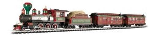 BAC90076  G White Christmas Express Train Set