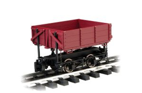 BAC92502  1:20.3 Wood Side Dump Car, Brown