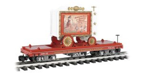 BAC92714  G Flat Car, Ringling Bros/Lady Artists #108