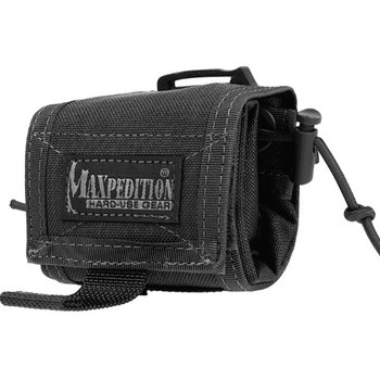 Maxpedition 0208B Maxpedition Rollypoly MM Folding Dump Pouch Black