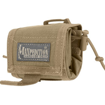 Maxpedition 0208K Maxpedition Rollypoly MM Folding Dump Pouch Khaki