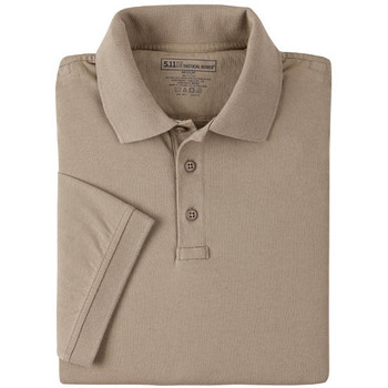 5.11 Tactical 61164-160-L 5.11 Womens Tactical Polo Silver Tan L
