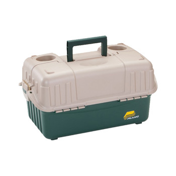 Plano 8616-00 Plano Hip Roof Box 6-Tray Green/Sand 8616-00