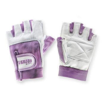 Grizzly Fitness 8758-75 Grizzly Womens Purple Grizzly Paw Gloves - XS