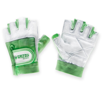 Grizzly Fitness 8758-98 Grizzly Womens Green Grizzly Paw Gloves - XS