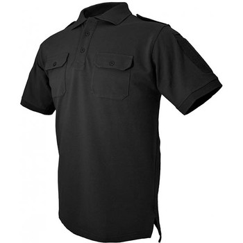Hazard 4 APR-QDLEO-BLK-S Hazard 4 QuickDry LEO Polo Black Small