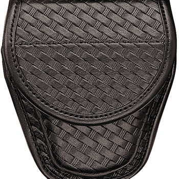 Bianchi 22063 Bianchi 7900 Covered Cuff Case Basket Weave Hidden Snap