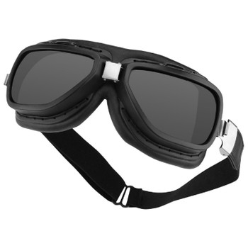 Bobster BPIL001 Bobster Pilot Aviator Goggles-Interchange Smoked-Clear Lens