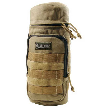 Maxpedition 0323K Maxpedition Bottle Holder 12.0 x 5.0 in Khaki