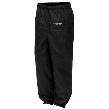 Frogg Toggs PA83522-01SM Frogg Toggs Pro Action Pant Ladies Black Small PA83522-01SM