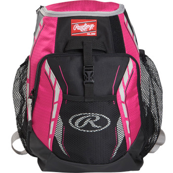 Rawlings R400-NPK Rawlings Players Backpack - Neon Pink