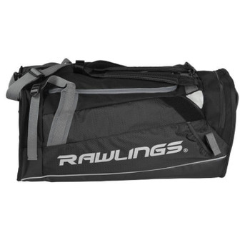 Rawlings R601-B Rawlings R601 Hybrid Backpack Duffel Players Bag - Black