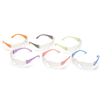Pyramex S4110SMP Pyramex Intruder Multi-Color Safety Glasses 12 Pack