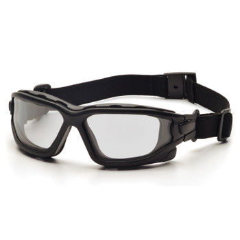 Pyramex SB7010SDT Pyramex I-Force Black Frame Clear AF Lens Sealed Eyewear