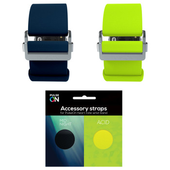 PulseOn STRAPKIT-MA-S PulseOn Accessory Straps Size Small Acid/Midnight