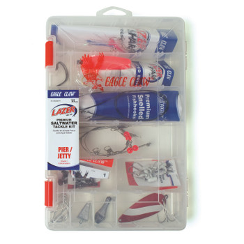 Eagle Claw TK-PIERKIT1 Eagle Claw Pier/Jetty Saltwater Tackle Kit