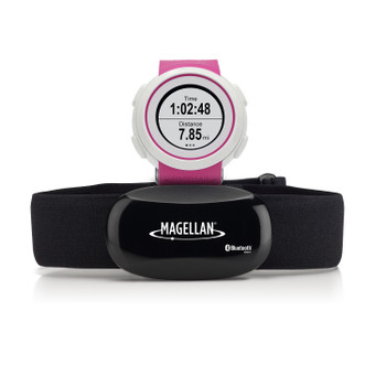 Magellan TW0204SGHNA Magellan Echo Fit Sports Watch with Heart Rate Monitor Pink