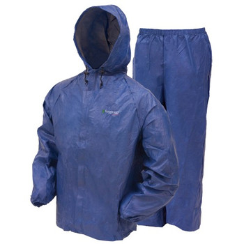 Frogg Toggs UL12104-12MD Frogg Toggs Ultra Lite Rain Suit Blue Medium UL12104-12MD