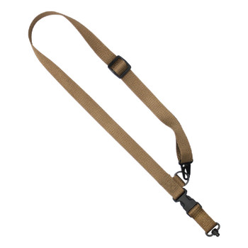 US Tactical UST-SLC00102QH US Tactical C1: 2-to-1 Point 1.25in Tactical Sling - Coyote
