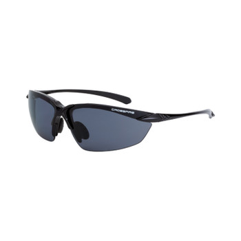 Crossfire XFCH-102PC Chassis Shinny Black Frame with Smoke Polarized Lens
