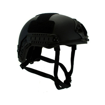 Ballistic Helmet – Black NIJ .06 IIIA High Cut