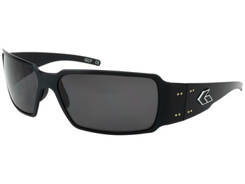 Gatorz BOXBLK01P Boxster Black / Smoked Polarized sunglasses