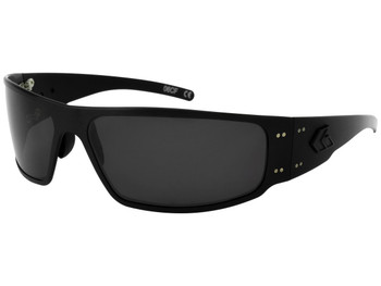 Gatorz MAGBLK01MBP Blackout Magnum Sunglasses Blackout Frame / Smoked Lens