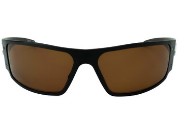 Gatorz MAGBLK03P Magnum Black / Brown Polarized Sunglasses