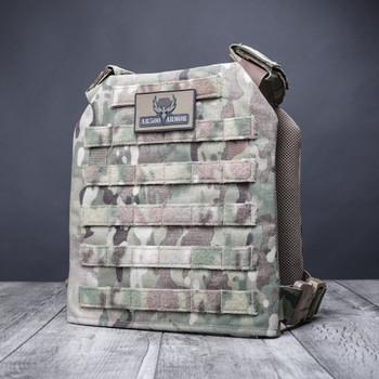 AR500 Body Armor® Guardian Plate Carrier Multicam Standard MOLLE (GUARDIANMC)