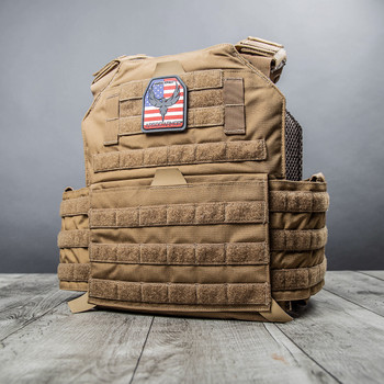 AR500 Body Armor® Testudo™ Plate Carrier Gen 2 Coyote
