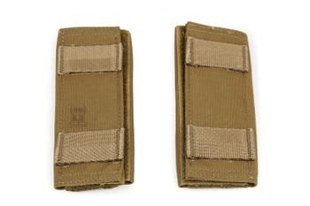 AR500 Body Armor® Pair of Shoulder Pads Coyote (SHLDRPADCY)