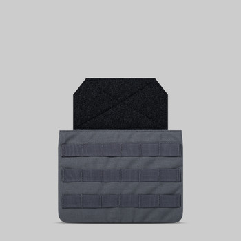 AR500 Body Armor® Abdominal Ballistic System (ABS) Pouch Wolf Grey (ABPOUCHGRY)