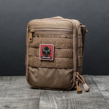 AR500 Body Armor® IFAK Tactical Emergency Personal Injury Kit Coyote (BIFAKCY)