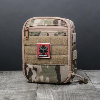 AR500 Body Armor® IFAK Tactical Emergency Personal Injury Kit Multicam (BIFAKMC)
