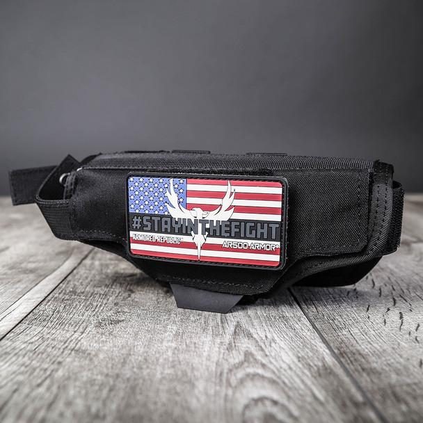 AR500 Body Armor® Multi-Caliber Pistol Holster Black (HOLSTERBLK)