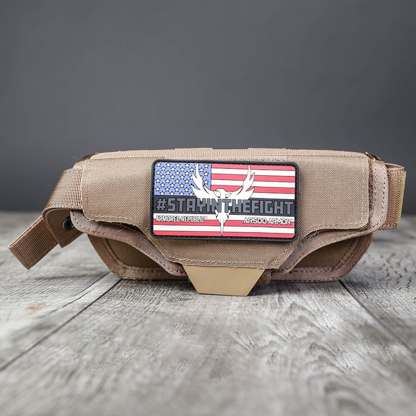AR500 Body Armor® Multi-Caliber Pistol Holster Coyote (HOLSTERCY)