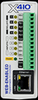 Web-Enabled Programmable Controller I/O: 4 Relays, 4 Digital Inputs, 1-Wire Bus (Up to 16 temp/humidity sensors) Power Supply: 9-28VDC