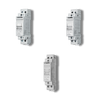 2 Step Impulse/Latching Relay, DPST-NO 16A, 12V DC coil, AgNi contact