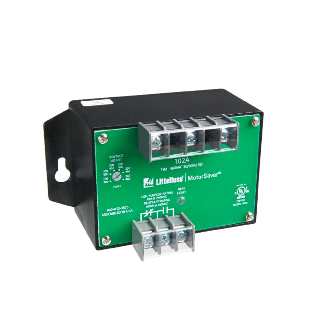 102A Series 3-PHASE VOLTAGE MONITOR