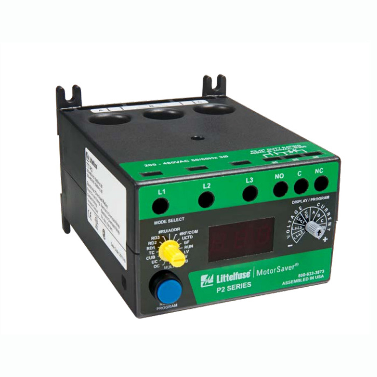 3-PHASE OVERLOAD RELAY 200 to 480VAC