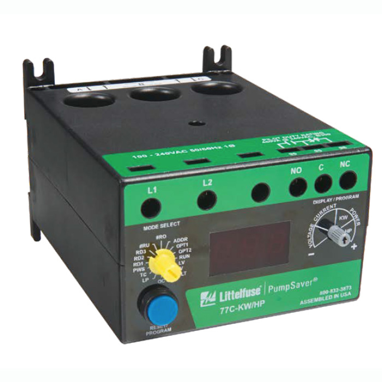 1-PHASE POWER MONITOR/ 100-240