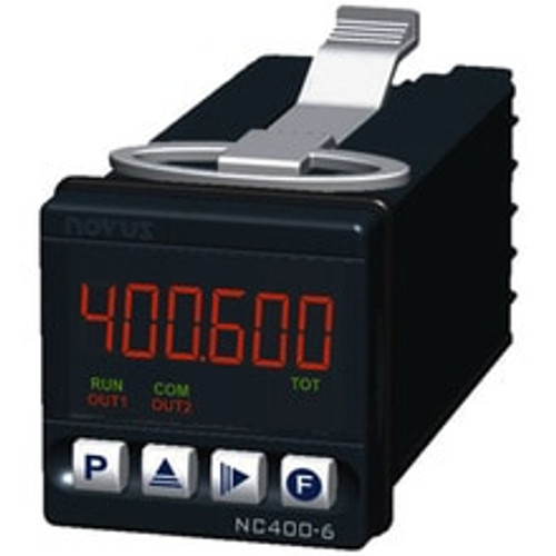 NC400-6-RP RS485 6-Digit Counter 1 relay + pulse out 48x48 mm