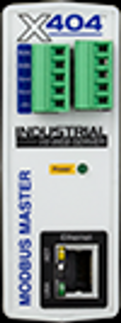 Web-Enabled RS-485 Modbus Master Controller Up to 32 modbus devices/sensors I/O: 1-Wire Bus (Up to 16 temp/humidity sensors) Power Supply: 9-28VDC