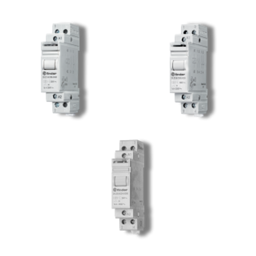 2 Step Impulse/Latching Relay, DPST-NO 16A, 120V AC coil, AgNi contact