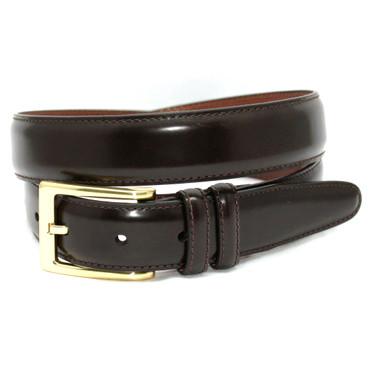 Antigua Leather Belt - Brown