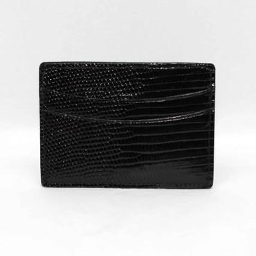 Genuine Lizard Cardcase - Black