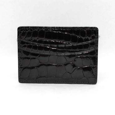 Genuine Alligator Cardcase - Black